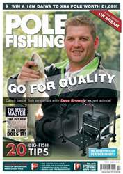 Pole Fishing December 2012 issue Pole Fishing December 2012