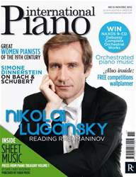 International Piano Magazine Cover