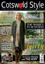 Cotswold Style November 2012 issue Cotswold Style November 2012