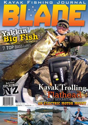 Blade Kayak Fishing Journal Preview