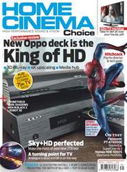 Home Cinema Choice Issue 215 issue Home Cinema Choice Issue 215