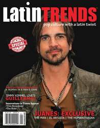 Latin Trends Magazine Cover