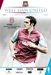 WEST HAM UNITED V STOKE CITY issue WEST HAM UNITED V STOKE CITY