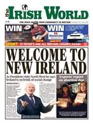 Irish World Magazine Cover