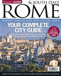 Italia! Guide to Rome Magazine Cover