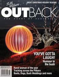 OUTBACK 86 issue OUTBACK 86