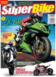Superbike Hungary Magazine Cover