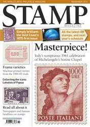 Stamp Magazine Magazine Cover