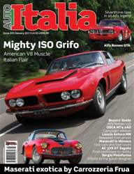 Auto Italia January Issue 203 issue Auto Italia January Issue 203