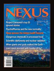 NEXUS 2001 issue NEXUS 2001
