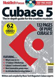 Music Tech Focus Cubase 5 issue Music Tech Focus Cubase 5