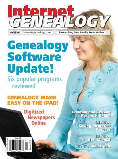 Internet Genealogy Preview