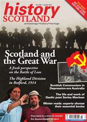History Scotland Jan-Feb 2013 issue History Scotland Jan-Feb 2013