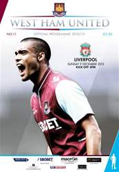 WEST HAM UNITED V LIVERPOOL issue WEST HAM UNITED V LIVERPOOL
