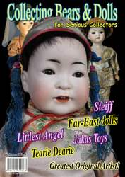 Collecting Bears And Dolls Magazine Cover