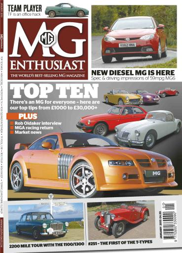 MG Enthusiast Digital Issue