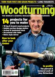 Woodturning Issue Apr 2011 issue Woodturning Issue Apr 2011