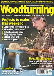 Woodturning Magazine Cover