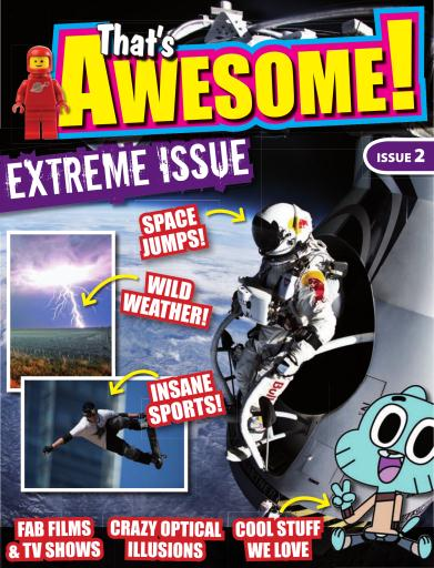 That's Awesome! - the interactive kids' magazine Preview