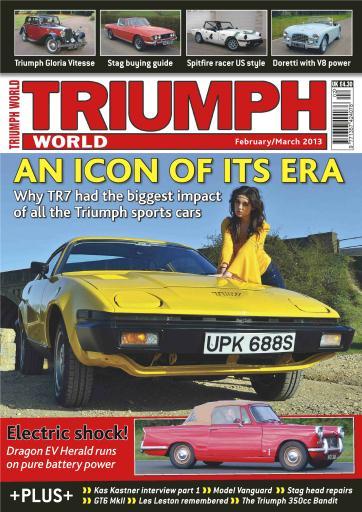 Triumph World Magazine The Iconic Triumph Tr7 Subscriptions