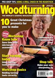 Woodturning Issue Winter 2010 issue Woodturning Issue Winter 2010