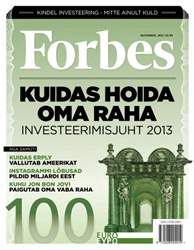Forbes Nov'12 issue Forbes Nov'12