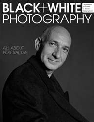 Black + White Photography Magazine Cover