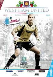 WEST HAM UNITED V EVERTON issue WEST HAM UNITED V EVERTON