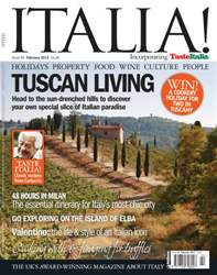 February 2013 Tuscan Living issue February 2013 Tuscan Living