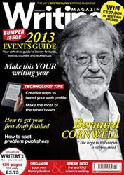 Writing Magazine February 2013 issue Writing Magazine February 2013
