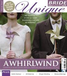 Unique Bride Magazine Cover