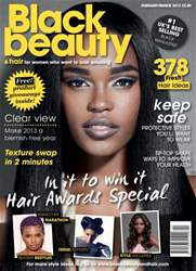 Black Beauty & Hair – the UK's No. 1 black magazine Magazine Cover