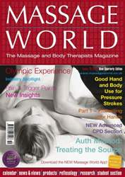Massage World Issue 78 issue Massage World Issue 78