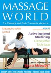 Massage World Apr-May 2010 issue Massage World Apr-May 2010