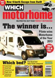 Which Motorhome March 2013 issue Which Motorhome March 2013