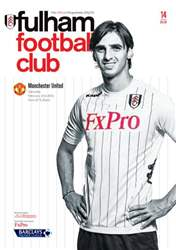 Fulham v Manchester United issue Fulham v Manchester United