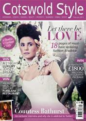 Cotswold Style February 2013 issue Cotswold Style February 2013