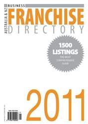 Business Franchise Directory '11 issue Business Franchise Directory '11