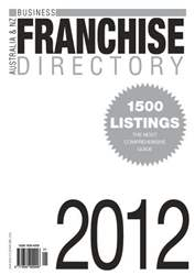 Business Franchise Directory '12 issue Business Franchise Directory '12