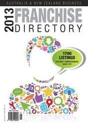 Business Franchise Directory '13 issue Business Franchise Directory '13