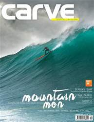 Carve Surfing Magazine Issue 140 issue Carve Surfing Magazine Issue 140