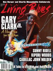 Living Blues Magazine Cover