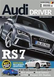 Audi Driver Magazine Cover
