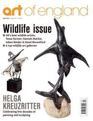 Art of England Magazine Cover