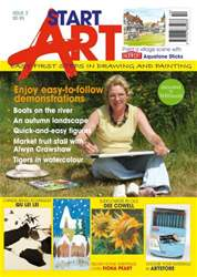 Leisure Painter Magazine Cover