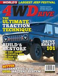 Four Wheel Drive Magazine Cover