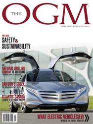 The OGM Magazine Cover
