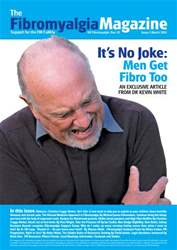 Fibromyalgia Magazine March 2013 issue Fibromyalgia Magazine March 2013