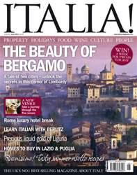 June 2011 The Beauty of Bergamo issue June 2011 The Beauty of Bergamo