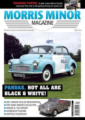 Morris Minor Magazine Preview